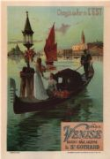 Eastern railroad line poster - Venise
